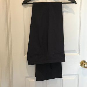 ToryBurch Navy High-Rise Wide-Leg Wool Pants(NWOT)